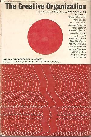 The Creative Organization: Gary A Steiner (ed)