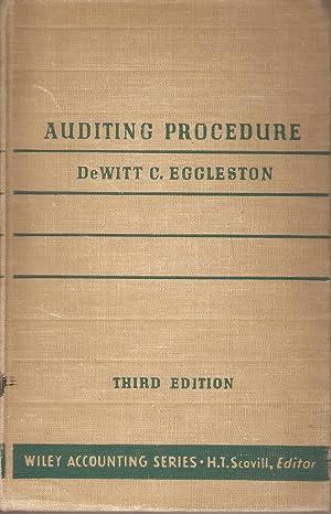 Auditing Procedure: De Witt Carl Eggleston