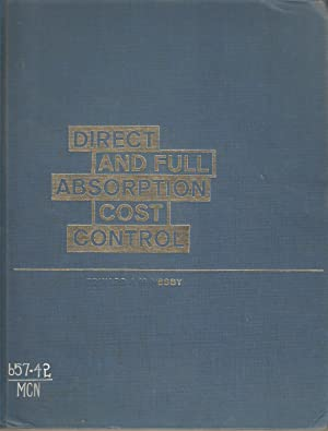 Direct and Full Absorption Cost Control: Edward J McNesby