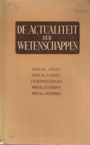 De Actualiteit der Wetenschappen: Booij, J et al.