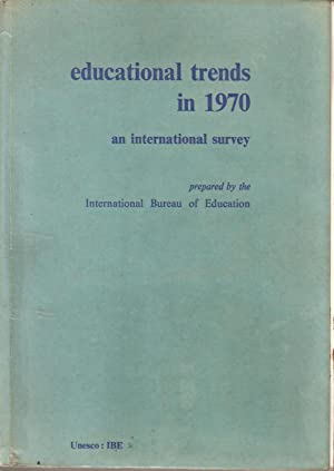 Educational Trends in 1970