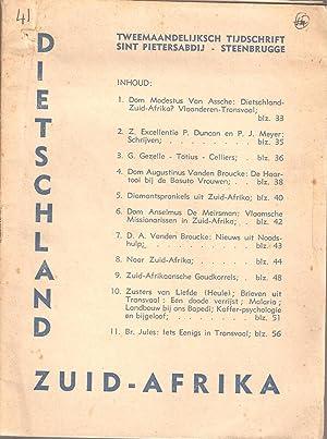 Dietschland Zuid-Afrika Nr 2 Juli 1937 - Missie-Orgaan der Prefectuur van Noord-Transvaal (...