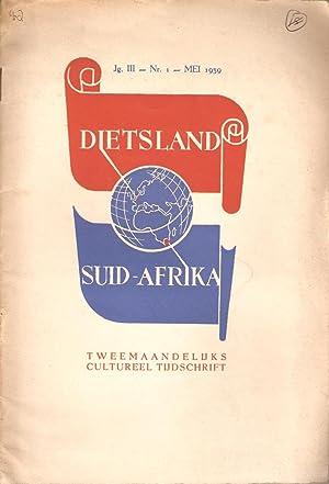 Dietsland Suid-Afrika Jaargang III Nr. 1 - Mei 1939