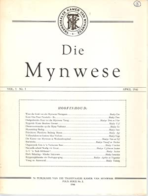 Die Mynwese Vol. 1 Nr. 1 April 1946