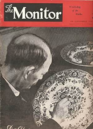 The Monitor 6th September 1946: Abraham H Jonker (ed)