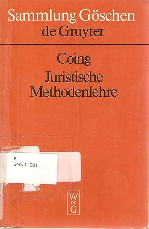 Juristische Methodenlehre: Helmut Coing