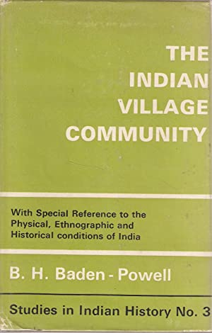 The Indian Village Community: B H Baden-Powell