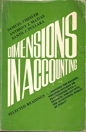 Dimensions in Accounting - Selected Readings: Samuel Chesler et al.