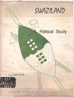 Swaziland - A political study: van Wyk, A J