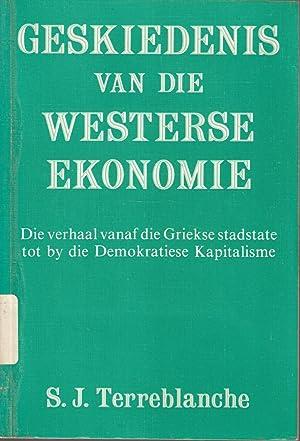 Geskiedenis van die Westerse Ekonomie - Die: Terreblanche, S J