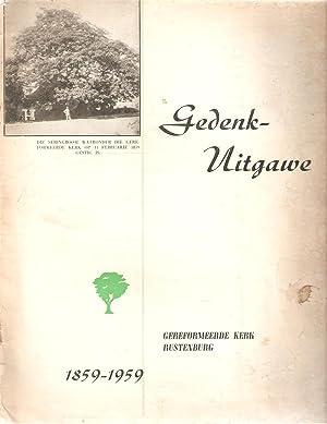 Gedenk-Uitgawe Gereformeerde Kerk Rustenburg 1859 - 1959: Kerkraadskommissie