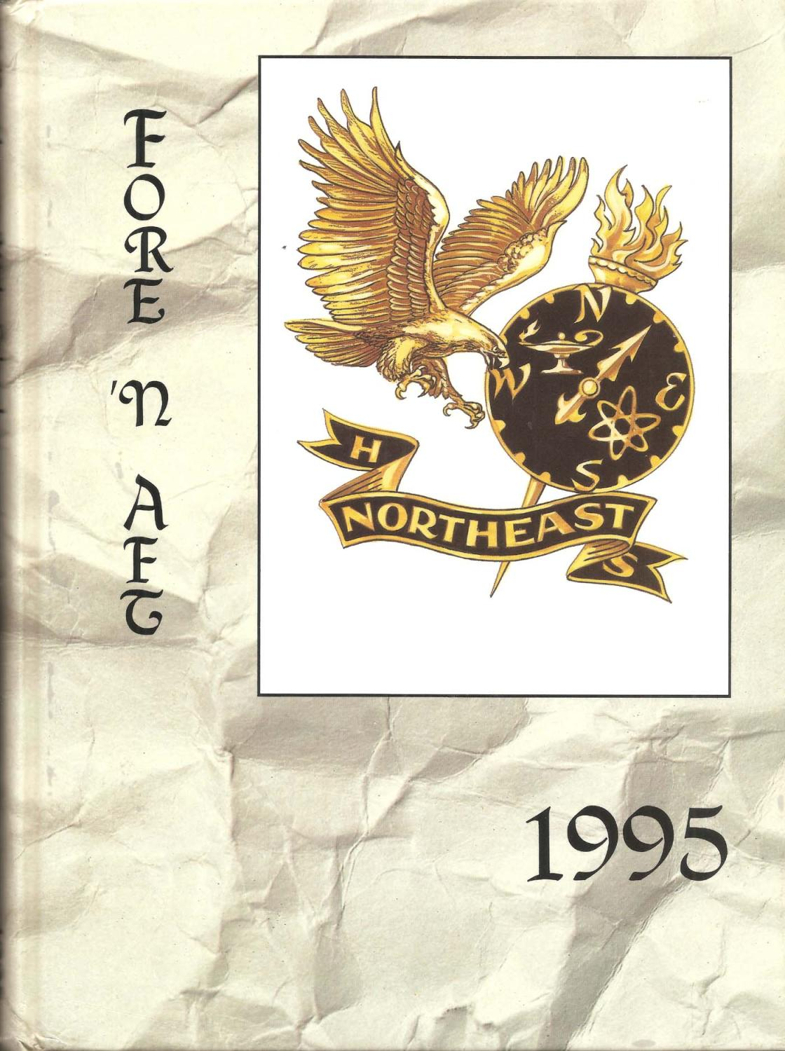 North East High School Yearbook 1995 Pasadena Md Fore N Aft By