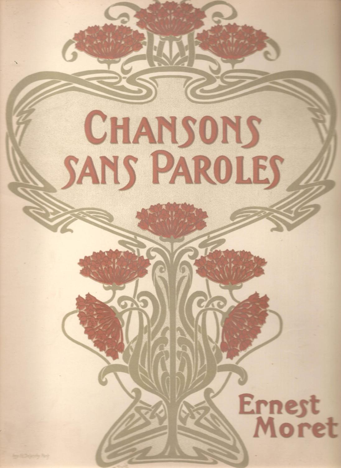 Chansons Sans Paroles Pour Piano Songs Without Words For Piano By