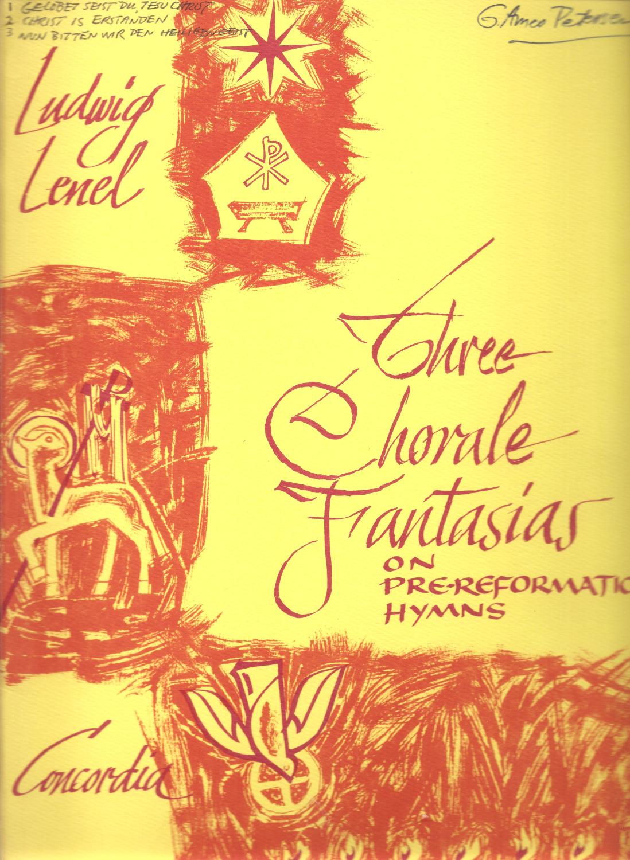 Three Chorale Fantasias on Pre Reformation