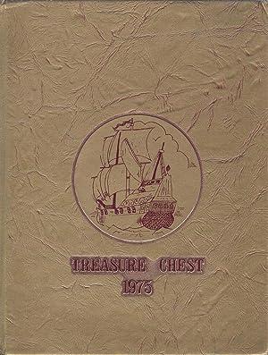 Bellflower High School Yearbook 1975 Bellflower,CA (Treasure Chest): Yearbook Staff