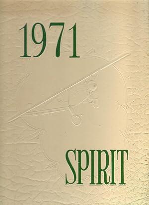 Lindberg Senior High School Yearbook 1971 St. Louis,MO (Spirit): Yearbook Staff