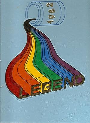 Grover Cleveland High School Yearbook 1982 Portland, OR (Legend): Yearbook Staff