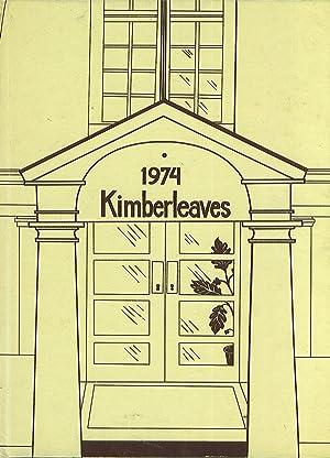 Montclair Kimberley Academy Year Book 1974 (Kimberleaves): Yearbook Staff