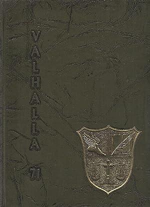 Evergreen High School Yearbook 1971 Metamora, OH (Valhalla): Yearbook Staff