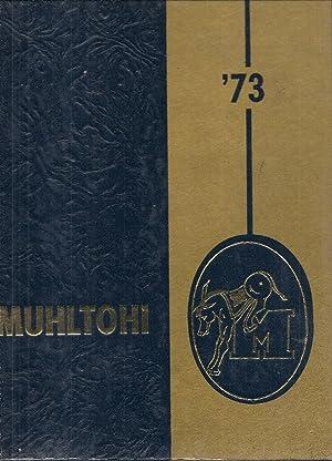Muhlenberg Township High School Yearbook 1973 Laureldale, PA (Muhltohi): Yearbook Staff