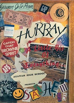Agawam High School Yearbook 1995 Agawam, MA (Sachem): Yearbook Staff