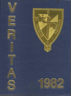 St Thomas Aquinas High School Yearbook 1982 Fort Lauderdale, FL (Veritas): Yearbook Staff