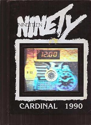 Corning Union High school yearbook 1990 Corning, CA (Cardinal): Yearbook Staff