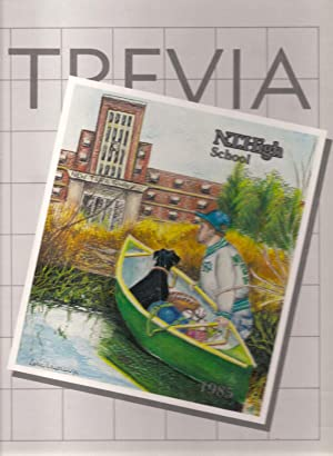 New Trier High School Yearbook 1985 Winnetka, IL (TREVIA): Yearbook Staff