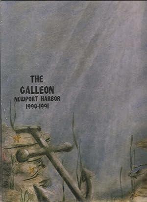 Newport Harbor High School Yearbook 1991 Newport Beach, CA (Galleon): Yearbook Staff