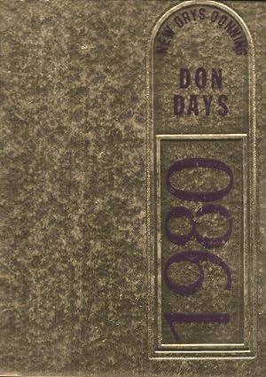 Amazor Valley High School Yearbook 1980 Pleaston, CA (Don Days): Yearbook Staff