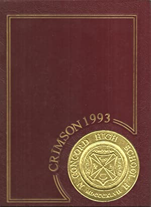 Concord High School Yearbook 1993 Concord, NH (Crimson): Yearbook Staff