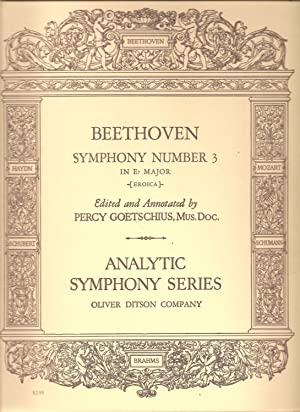 Beethoven - Symphony Number 3 in E Flat Major Op. 55 (Eroica) for Piano 2 Hands: Beethoven, Ludwig ...