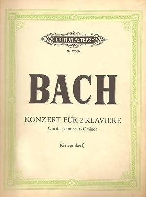 Konzert Fur 2 Klavier C-moll (Concerto for 2 Pianos in C minor): Bach, Johann Sebastian; ...
