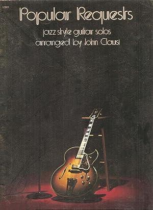 Popular Requests Jazz Style Guitar Solos: Clausi, John(Arrangement)