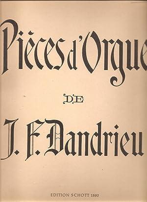 Premier Livre de Pieces d'Orgue / First: Dandrieu, Jean-Francois; Guilmant,