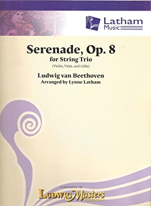 Serenade, Op.8 for String Trio (Violin, Viola and Cello