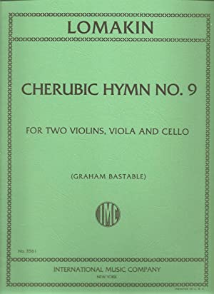 Lomakin: Cherubic Hymn No. 9 for Two Violins, Viola and Cello