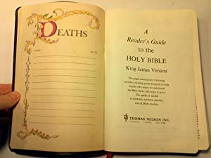 A Reader's Guide to the Holy Bible: Thomas Nelson, Inc