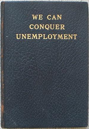 We Can Conquer Unemployment - Mr Lloyd: GEORGE, David Lloyd