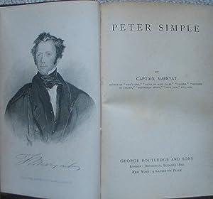 Peter Simple: MARRYAT, Captain