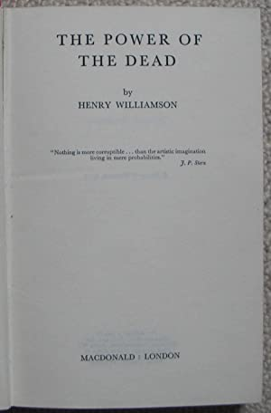 The Power of the Dead: WILLIAMSON, Henry