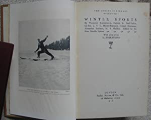 Winter Sports: KNEBWORTH, Viscount etc