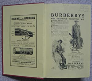 """Mixed & Rough Shooting - A Book for Men of Moderate Means: BONNETT, Frank (""""East Sussex""""..."""