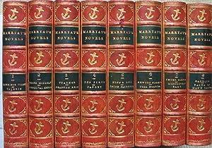 The Novels and Tales of Captain Marryat - 8 volumes in fine bindings: MARRYAT, Captain