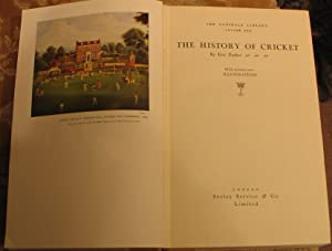 The History of Cricket: PARKER, Eric