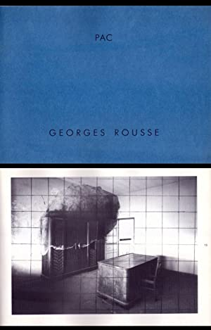 Catalogo mostra GEORGES ROUSSE. PAC 24 febbraio: GEORGES ROUSSE