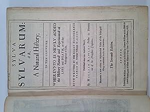 Sylva Sylvarum