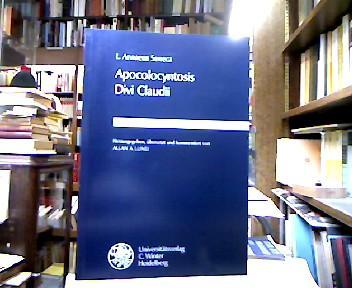 Apocolocyntosis Divi Claudii (Wissenschaftliche Kommentare Zu Griechischen Und Lateinischen Schriftstellern) (German Edition)