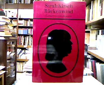 Rückenwind.: Kirsch, Sarah.
