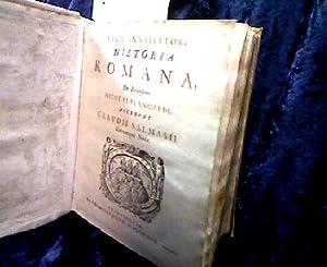 Lucii Annæi Flori Historia Romana, ex recensione: Florus ( Lucius/